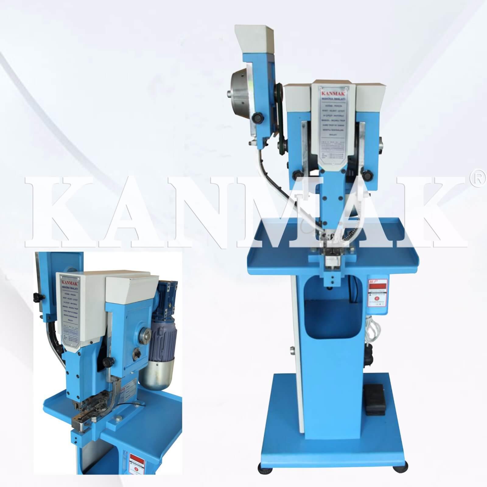Otomatik Üç Farklı Model Perçin Çakma Makinası KM 5300