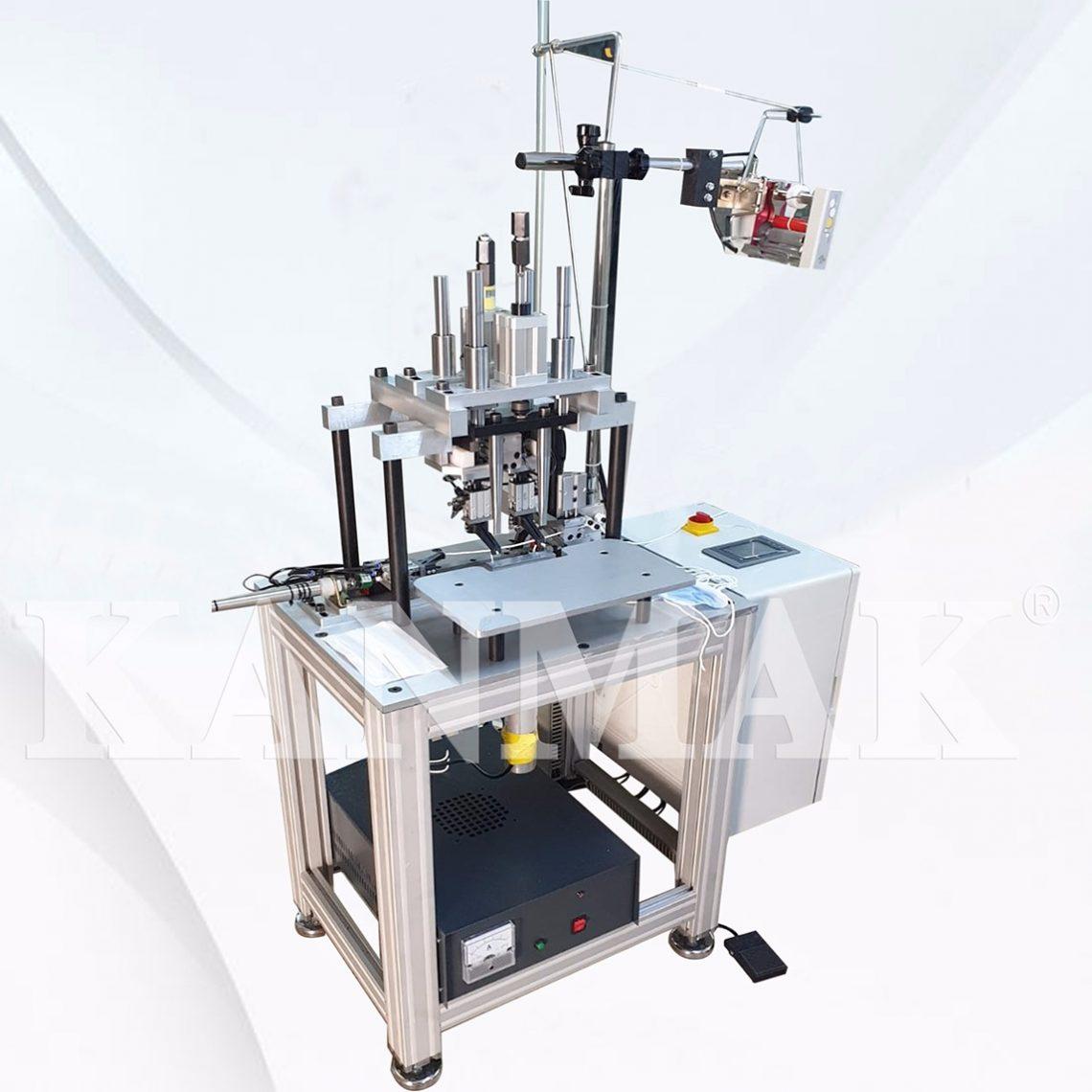 Maske Lastik Yapıştırma Makinası Ultrasonik